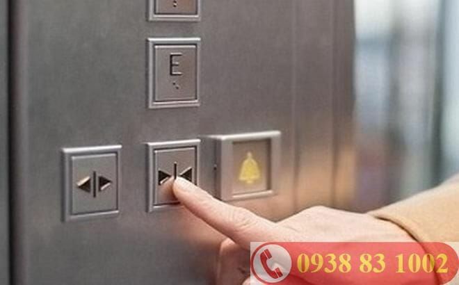 nút nhấn thang máy